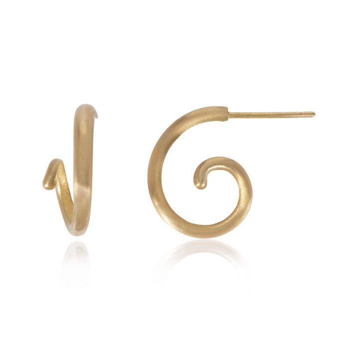 acrobat stud earrings