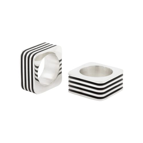 cube ring - lined