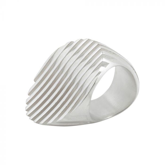 escalator ring - white