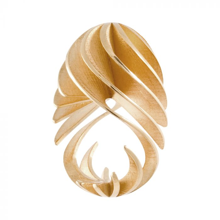 fine twist egg ring