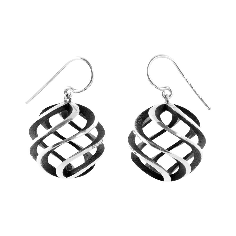 sun earrings - large