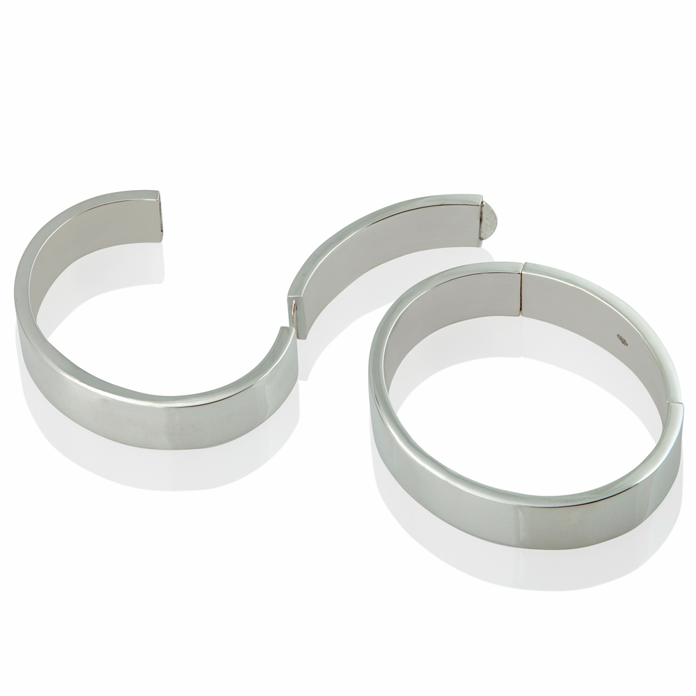 tension bangle - rectangular section