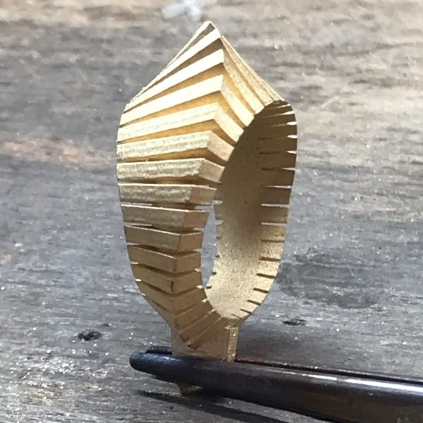 Jewellery after casting