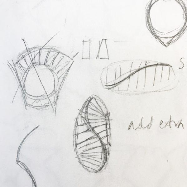 ough sketches for CAD