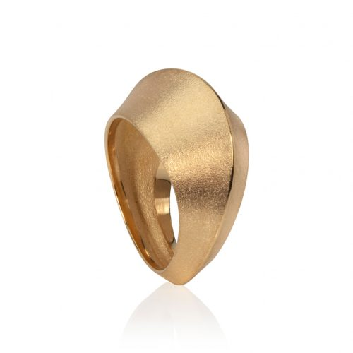 dune ring 18ct gold