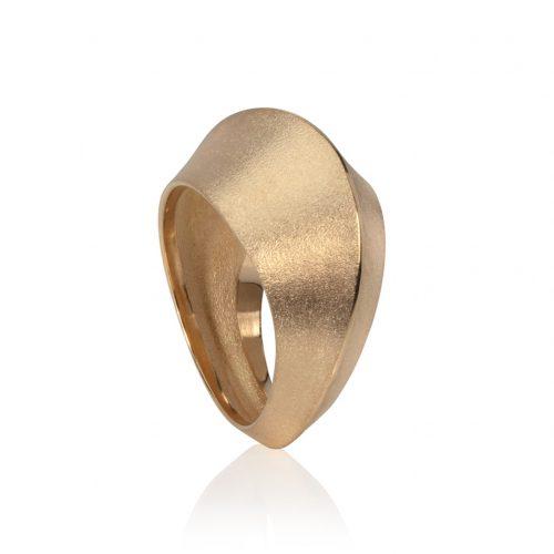 dune ring 9ct gold