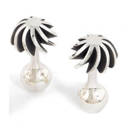 holiday-cufflinks-silver-oxidised-Sarah-Herriot-Jewellery-London