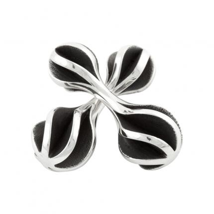 twist-and-shout-cufflinks-silver-oxidised-Sarah-Herriot-Jewellery-London