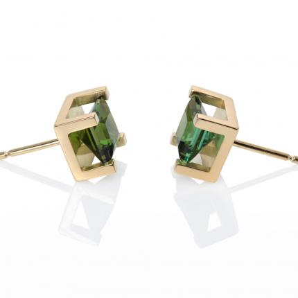 crane-earrings-18ct-gold-green-tourmaline-2-Sarah-Herriot-Jewellery-London