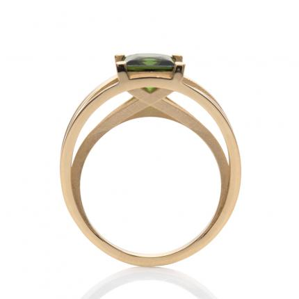crane-ring-18ct-gold-green-tourmaline-1-Sarah-Herriot-Jewellery-London