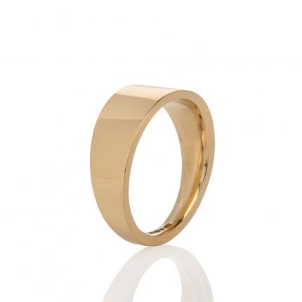 wedding-band-18ct-gold-tapered-Sarah-Herriot=Jewellery-London