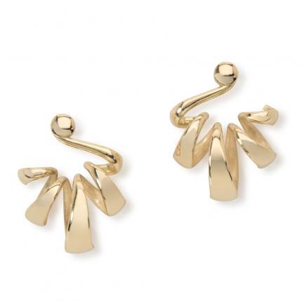 spiral-loop-earrings-18ct-gold-Sarah-Herriot-Jewellery-London