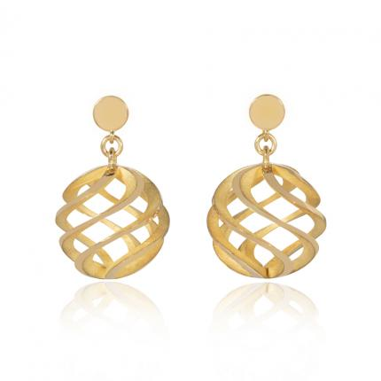 sun-earing-large-18ct-gold-studs-Sarah-Herriot-Jewellery-London