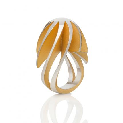twist-and-shout-ring-silver-gold-plate-interior-Sarah-Herriot-Jewellery