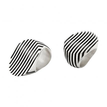 escalator-ring-silver-oxidised-Sarah-Herriot-Jewellery