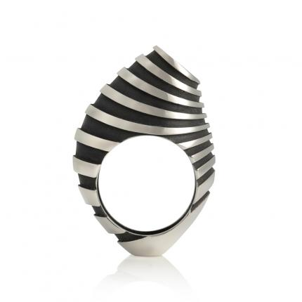 eddy-op-2-ring-silver-oxidised-Sarah-Herriot-Jewellery-London