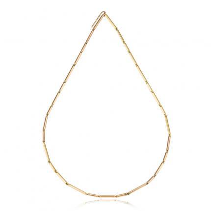 bamboo-neckpiece-18ct-gold-Sarah-Herriot-Jewellery