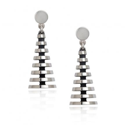 pyramid-earrings-silver-straight-Sarah-Herriot-Jewellery