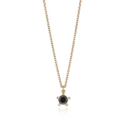 black-diamond-and-18ct-gold-necklace-Sarah-Herriot-Jewellery