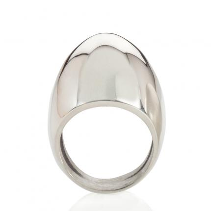 plain-egg-ring-polished-silver-Sarah-Herriot-Jewellery-London