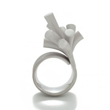 splash-ring-silver-rhodium-plate-Sarah-Herriot-Jewellery